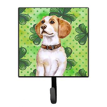 Carolines Treasures  BB9860SH4 Beagle St Patrick's Leash or Key Holder