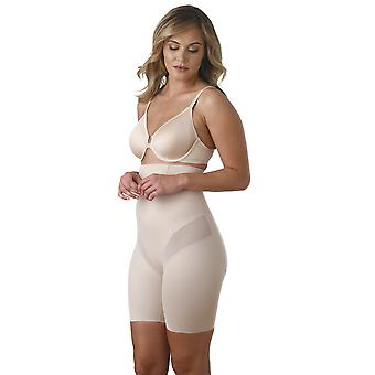 Miraclesuit Shapewear 2409 Women's Nude Solid Colour High Waist Long Leg Brief