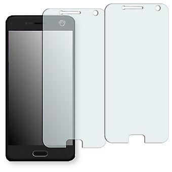 ZTE blade V8 display protector - Golebo crystal-clear protector (deliberately smaller than the display, as this is arched)