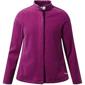 Craghoppers Boys & Girls Anjey Honeycomb Pique Fleece Jacket Top