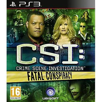 CSI dödlig konspiration (PS3)