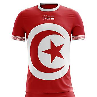 2018-2019 Tunisia Away Concept Football Shirt (Kids)