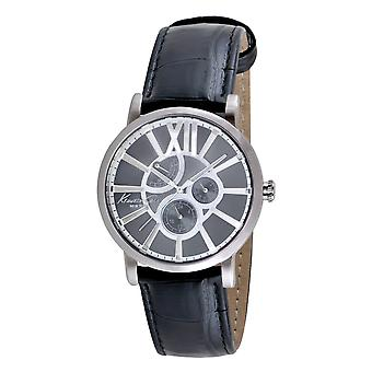 Kenneth Cole New York men's wrist watch analog leather 10008009 / KC1980