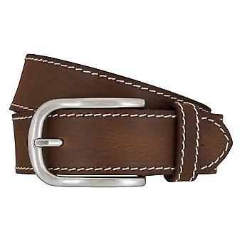 BRAX belts men's belts leather belt Cognac 6574