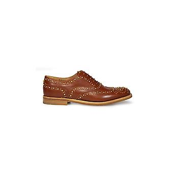 CHURCH'S BURWOOD MET 3 NATURAL LACE UP