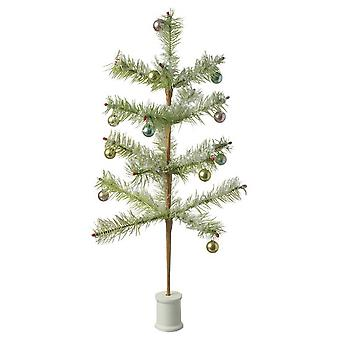 Heaven Sends Vintage Style Fir Tree With Baubles