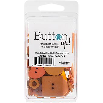 Button Up! Party Pack Buttons-Ginger