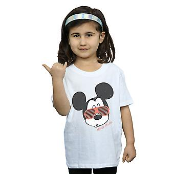 Disney Girls Mickey Mouse Sunglasses T-Shirt