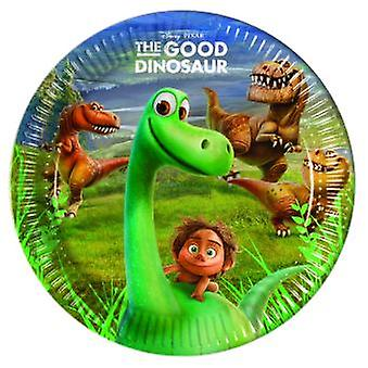 The good Dinosaur Dino Arlo & Spot Party Teller Ø 23 cm 8 Stück Kindergeburtstag Mottoparty