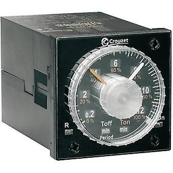 Crouzet TIMER TMR 48L TDR multifunción 1 PC ATT. FX. RANGO de tiempo: 0.02 s - 300 h 2 cambios de presentación