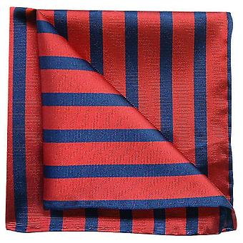 Tyler en Tyler Stripe Pocket plein - Red/Navy