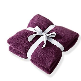 Teddy Bear Super Soft Throw 100 x 150 cm Cuddly Blanket for Sofa Chair Bed