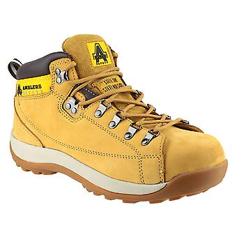 Amblers Ladies FS122 Steel Toe & Midsole Leather Safety Boot SB-P-SRA