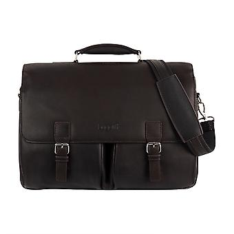 Bugatti Montreal XL leather business bag laptop bags Briefcase