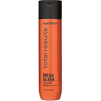Matrice risultati totali Mega Sleek Shampoo 300 ml