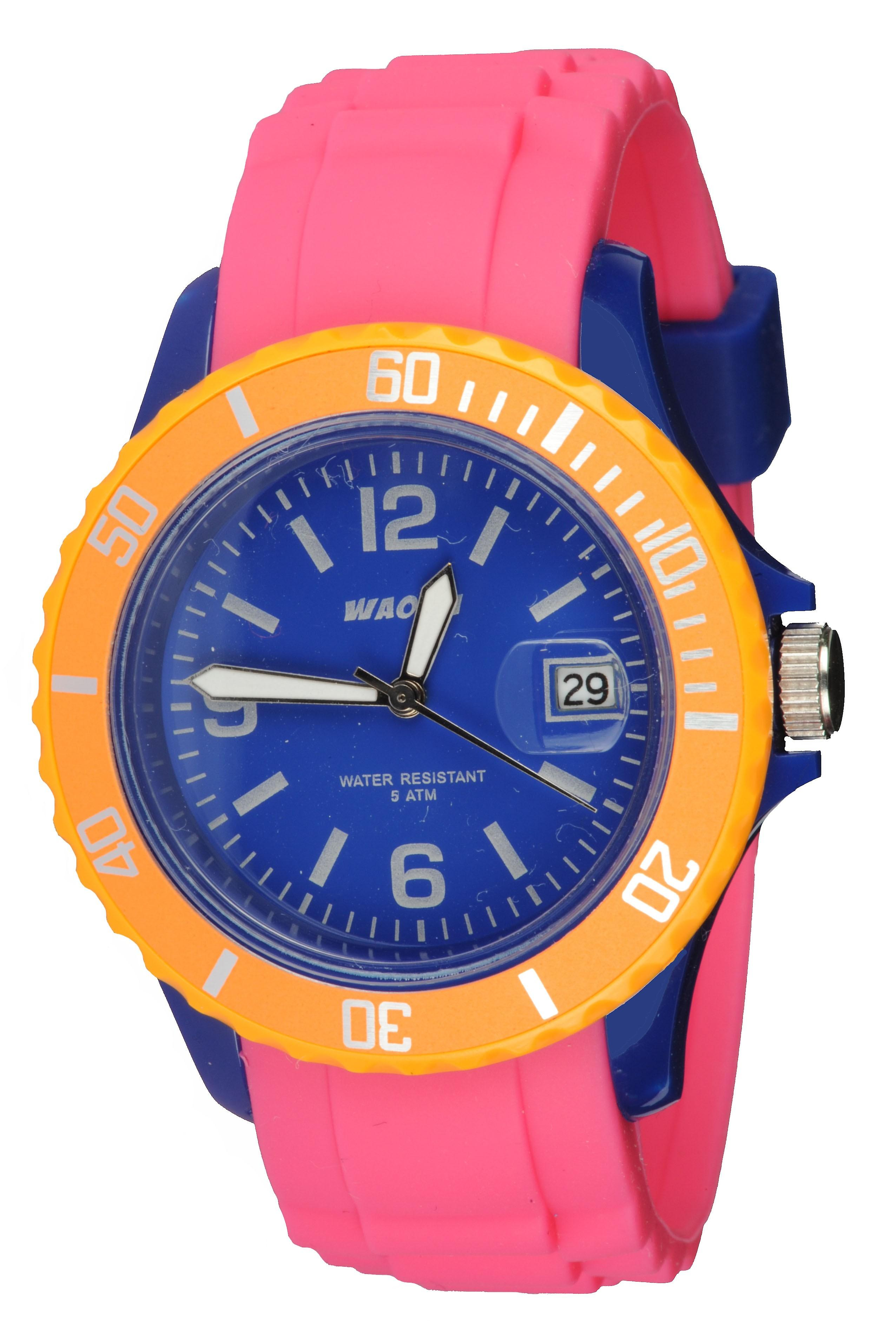 Waooh - Watch Monaco38 - HABs blue
