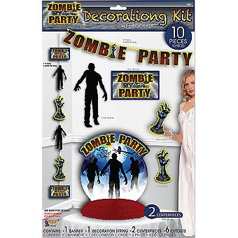 Zombie Party D�cor Set 10pc