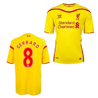 2014-15 Liverpool Away Shirt (Gerrard 8) - Kids