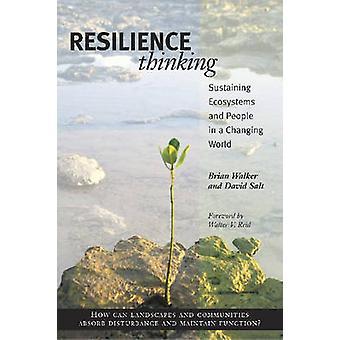 Resilienza pensando - sostenere gli ecosistemi e la gente in un mutevole W