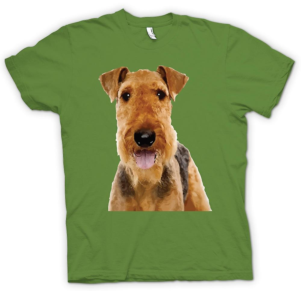Mens T-shirt - Airdale Terrier Pet Dog