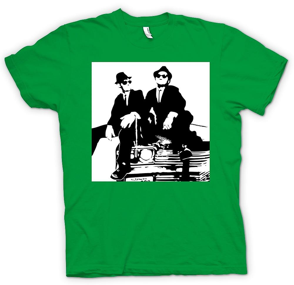 Herr T-shirt - Blues Brothers - Pop Art