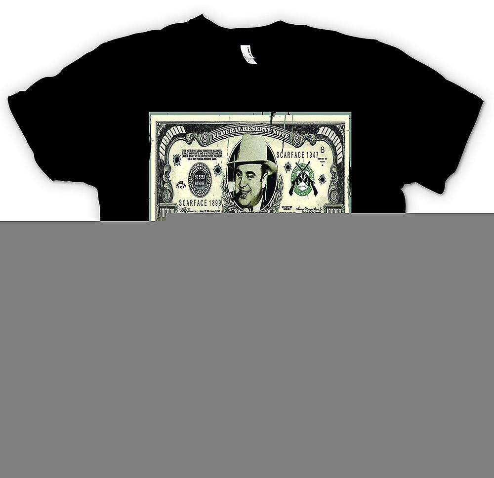 Barn T-shirt - 100 k $ Bill - Al Capone Obs
