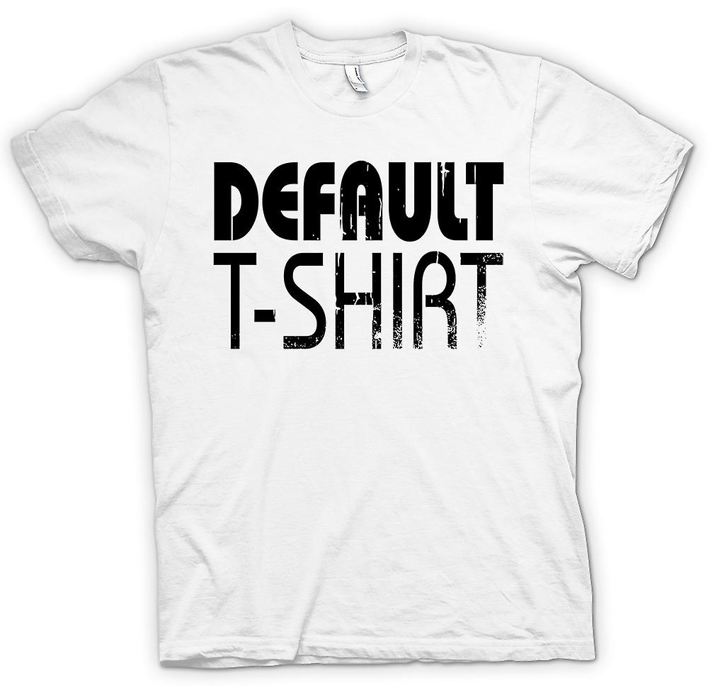 Funny Cool mens t-shirt - camisa de defecto T-