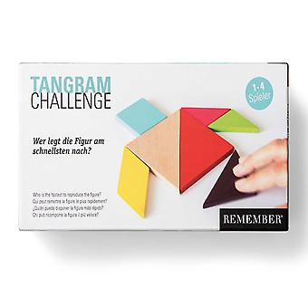 Remember Tangrams wood shapes and match game from China