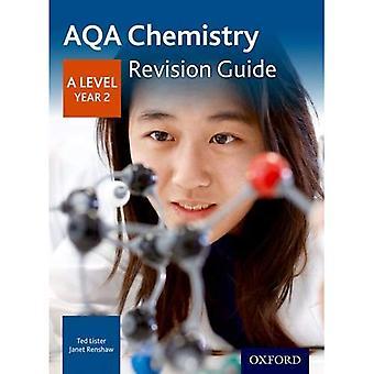 AQA een niveau chemie 2 jaar herziening gids