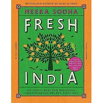 Frisk India: 130 rask, enkel og deilig Vegetar oppskrifter for hver dag