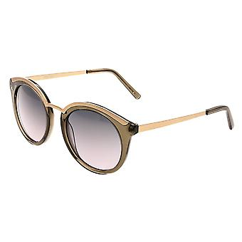 Bertha Caroline Polarized Sunglasses - Green/Black