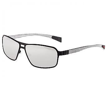 Breed Meridian Titanium and Carbon Fiber Polarized Sunglasses - Black/Gold