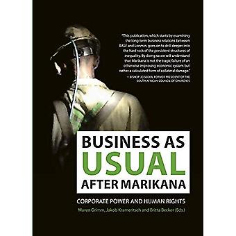 Business as usual after Marikana: Corporate power and human rights