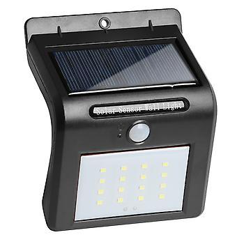 TRIXES 16 levou luz de segurança Solar Powered Motion Sensor jardim galpão