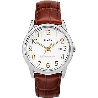 Automatic Analog Timex Unisex Adult with a leather strap TW2R65000