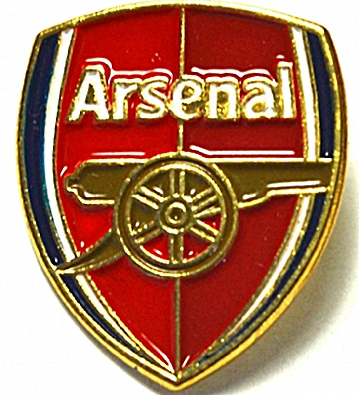 Arsenal FC metal / enamel pin badge    (bb)