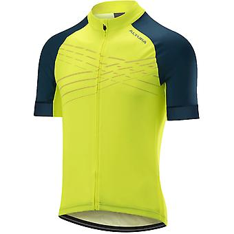 Altura Hi-viz Yellow-Teal 2019 Firestorm Short Sleeved Cycling Jersey