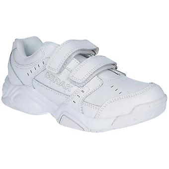 Mirak Ladies Contender Padded Leather Sports Trainer White (Small)