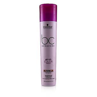 Schwarzkopf BC Bonacure pH 4,5 cor congelar vermelho vibrante micellar shampoo (para cabelos vermelhos)-250ml/8.5 oz
