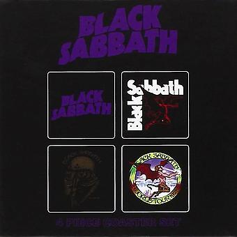 Black Sabbath 4 Piece Coaster Set