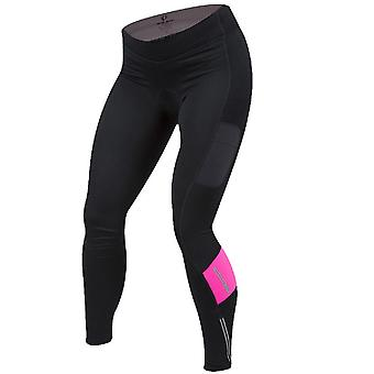 Pearl Izumi Black-Screaming Pink Escape Sugar Thermal Womens Cycling Pants
