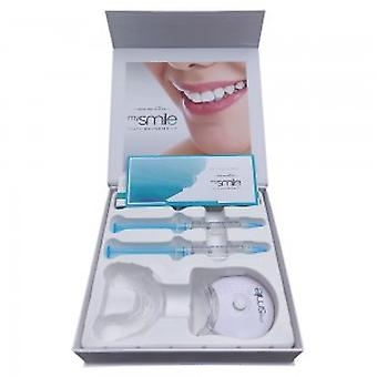 Eco Masters MySmile Teeth whitening kit-fleuren uw glimlach-licht, gel, tray, + Shade Guide