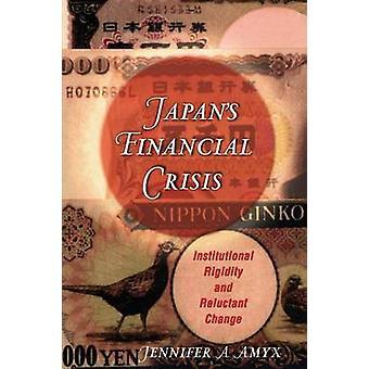 الأزمة المالية في اليابان-الجمود المؤسسي وتغيير تردد