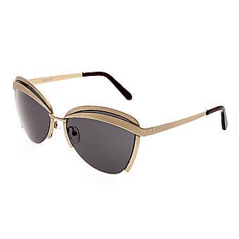 أوبري بيرثا الاستقطاب النظارات الشمسية-الذهب/أسود
