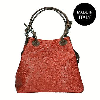 Leather shoulder bag Made in Italy 80049