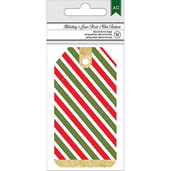 American Crafts Holiday Tags 1.75