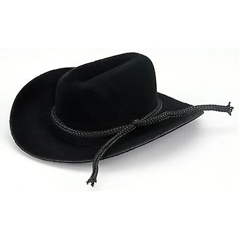 Cowboy Hat with Rope Trim 3 4