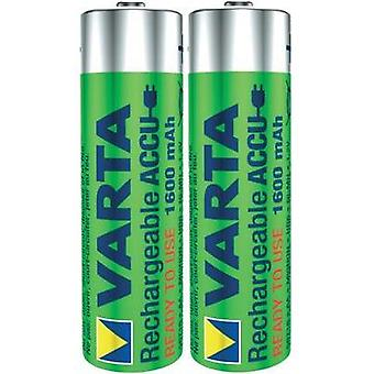 AA battery (rechargeable) NiMH Varta Ready2Use HR06 1600