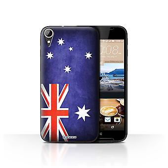 STUFF4 Case/Cover for HTC Desire 830/Australia/Australian/Flags