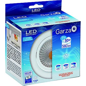 Garza Recessed Cob Led 7W 560lm 60 30K (Home , Lighting , Light bulbs and pipes)